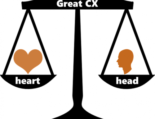 Heart or head first? Which is more important in driving great Customer Experiences?