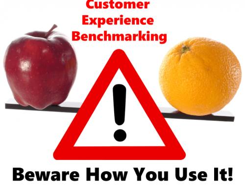 Customer Experience Benchmarking: beware how you use it!
