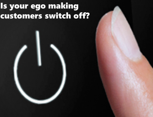 Is your ego making customers switch off? Guest post by Nigel Owen