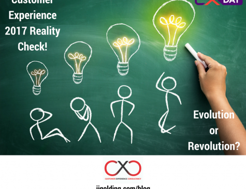 Customer Experience 2017 Reality Check – Evolution or Revolution?