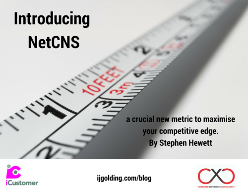 NetCNS: a crucial new metric to maximise your competitive edge, by Stephen Hewett