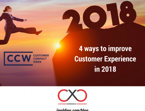 4 Ways to Improve Customer Experience in 2018 – guest post from CCW NOLA