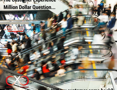 The Customer Experience Million Dollar Question: Will my customer come back?