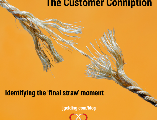 The customer conniption! Identifying the 'final straw' moment