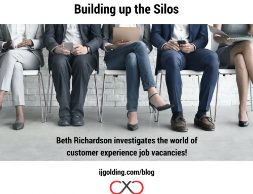 Resourcing up the silos – Beth Richardson investigates the world of customer experience job vacancies!