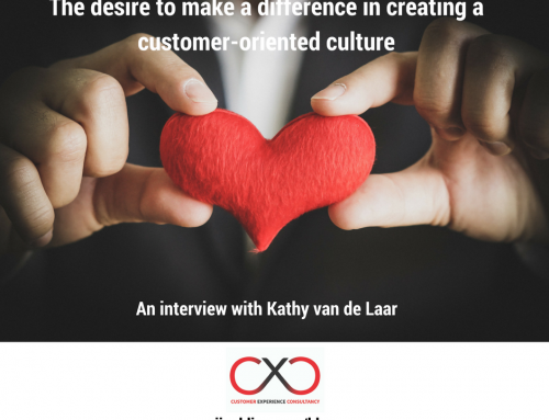 The desire to make a difference in creating a customer-oriented culture – an interview with Kathy van de Laar