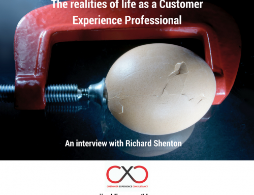 The realities of life as a Customer Experience Professional – an interview with Richard Shenton