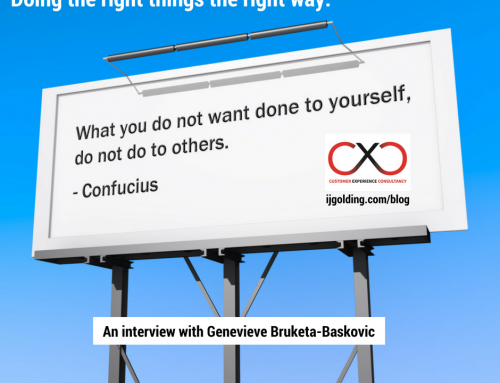 Doing the right things the right way. An interview with Genevieve Bruketa-Baskovic