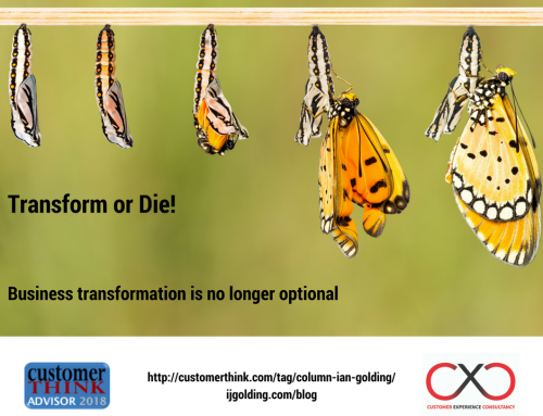 Transform or Die! Business Transformation is No Longer Optional