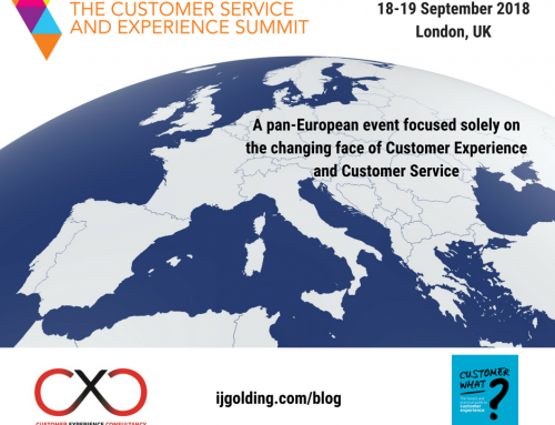 The Customer Service and Experience Summit – a pan-European event focused solely on the changing face of customer experience and customer service
