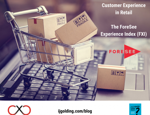 The current state of Customer Experience in Retail: The ForeSee Experience Index (FXI)