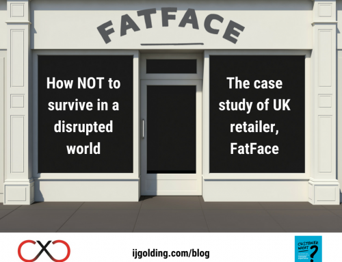 How NOT to survive in a disrupted world – the case study of UK retailer, FatFace
