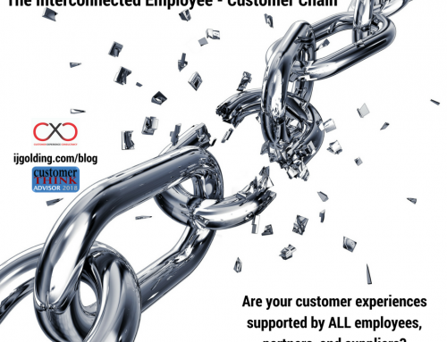 Is your organisation interconnected? The employee – customer chain