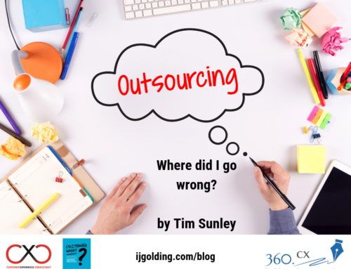Outsourcing: where did I go wrong? – by Tim Sunley