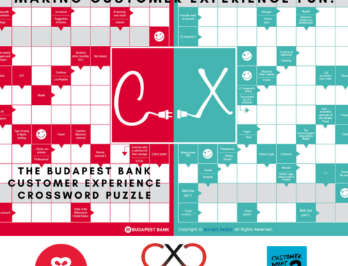 Making Customer Experience Fun! The Budapest Bank CX Crossword Puzzle